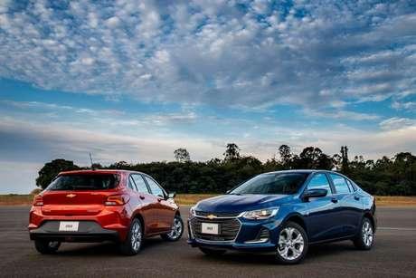 Chevrolet Onix/Onix Plus: família de hatch e sedã mais vendida do Brasil faz dobradinha em novembro.