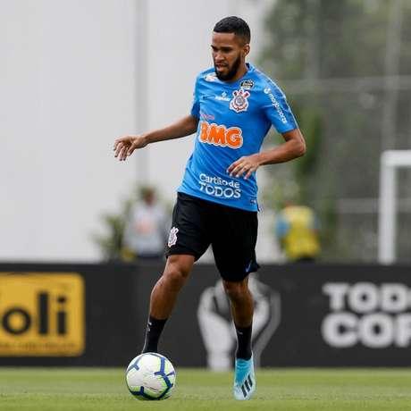 Everaldo foi contratado pelo Corinthians em maio desta temporada (@marcogalvaofoto)