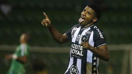CHAPECOENSE 0x1 BOTAFOGO (Foto: Vítor Silva/Botafogo)