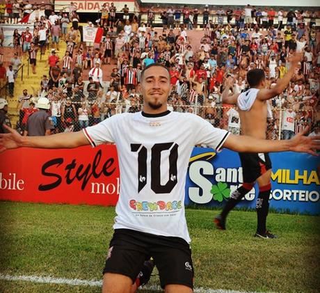 Jeferson é o grande destaque do Paulista de Jundiaí (Foto: Reprodução/Instagram)