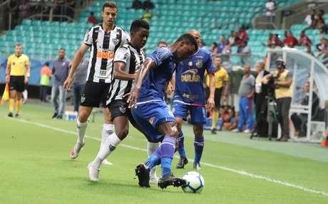 Bahia e Atlético-MG empatam na Fonte Nova.