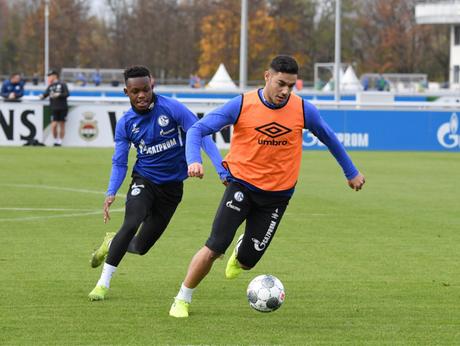 O Schalke está em quinto lugar no Campeonato Alemão (Foto: Reprodução/Twitter)