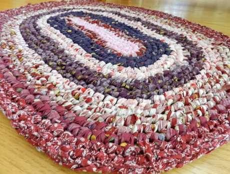 24. Tapete colorido de crochê. Fonte: Pinterest