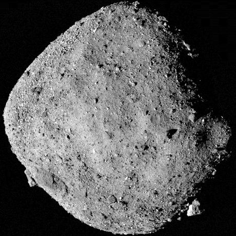 Os cientistas esperam analisar amostras do asteroide Bennu no futuro