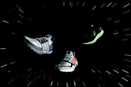 Adidas lança três modelos de tênis inspirados em 'Star Wars' cujos preços variam de R$ 800 a R$ 1,5 mil.