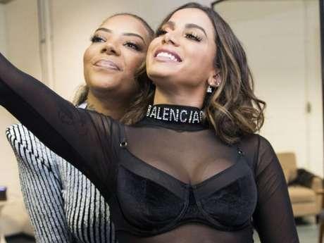Anitta e Ludmillase desentenderam por confusão dos créditos da música 'Onda Diferente'