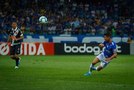 No áudio, somente se escuta a voz de Thiago Neves pedindo para o time receber e que iriam até abrir mão do bicho por vitória-(Foto: Vinnicius Silva/Cruzeiro)