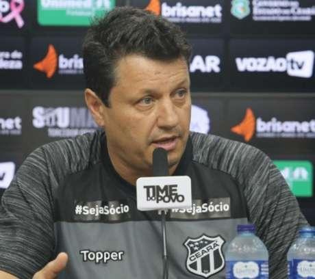 Adilson Batista pode ter um novo clube, menos de 48 horas depois de ser demitido do Ceará após a derrota para o campeão Flamengo-(Divulgação/Ceará)