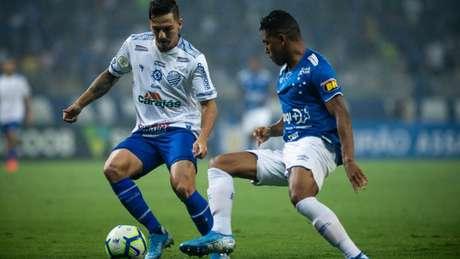 Uma noite tensa do Cruzeiro, que teve grandes dificuldades de jogar contra o CSA-(Bruno Haddad/Cruzeiro)