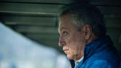 O treinador celeste disse que estava de cabeça quente e preferiria conversar com a imprensa na Toca da Raposa, nesta sexta-feira, 29 de novembro- (Bruno Haddad/Cruzeiro)