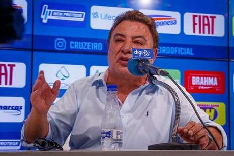 Perrella disse que é normal a cobrança de Thiago e afirmou que não vazou o áudio-(Vinnicius Silva/Cruzeiro)