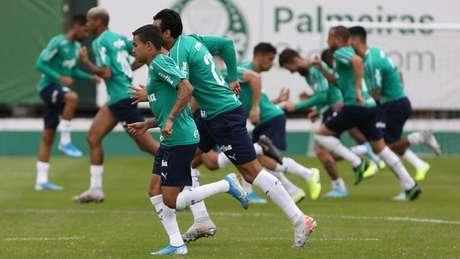 Dudu atuou no segundo tempo contra o Fluminense e deve ser titular no domingo (Agência Palmeiras/Divulgação)