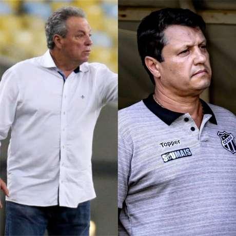 Abel Braga deixou o cargo de técnico à disposição e Adílson vai assumir (Foto: Lucas Merçon/FFC/Divulgação/Ceará)