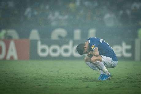 Thiago Neves perdeu pênalti na derrota contra o CSA (Foto: Bruno Haddad/CEC)