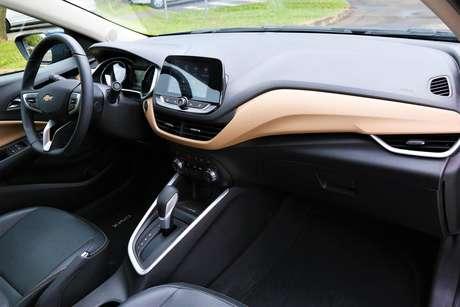 Interior do novo Chevrolet Onix Premier II.