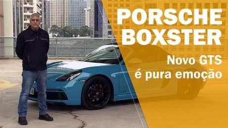 Veja o vídeo com o Boxster GTS.