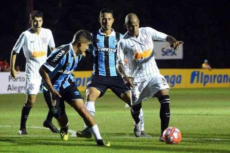 Corinthians perdeu para o Grêmio na estreia da Copa RS Sub-20(Foto: Luiz Munhoz / Agência Corinthians)