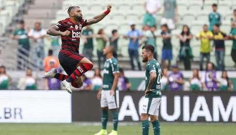 O Flamengo de Gabigol expôs, de novo, que o Palmeiras pouco acertou (Ricardo Moreira/Fotoarena/Lancepress!)