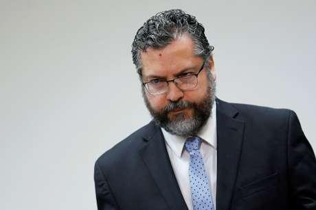 Ministro das Relações Exteriores, Ernesto Araújo, em Brasília 21/11/2019 REUTERS/Adriano Machado