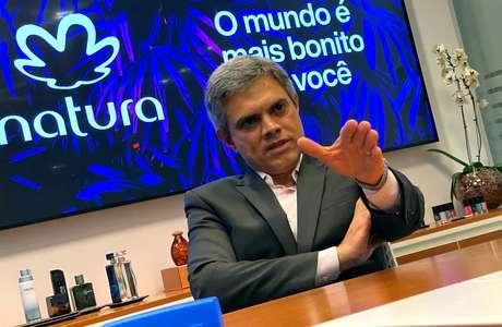 Presidente da Natura, João Paulo Ferreira, durante entrevista à Reuters em São Paulo  29/11/2019 REUTERS/Leonardo Benassatto