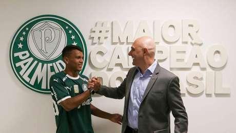 Gabriel Veron deve ser um dos jovens a receber chances (Foto: Divulgação/SEP)