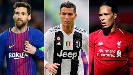 Trio foi protagonista também no prêmio The Best, da Fifa (Foto: Reprodução)
