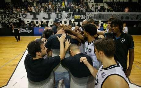 Time de basquete do Botafogo (Foto: Vítor Silva/Botafogo)