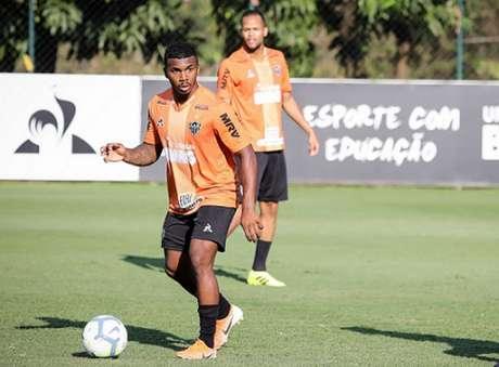 Marquinhos teve boa atuação contra o Corinthians, dando assistência para o gol de Cazares-(Bruno Cantini/Atlético-MG)