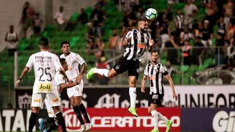O Galo foi elogiado por Vagner Mancini , que evolução do time contra o Corinthians-(Bruno Cantini/Atlético)