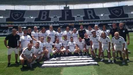 Argentinos visitam o Nilton Santos Divulgação/Botafogo