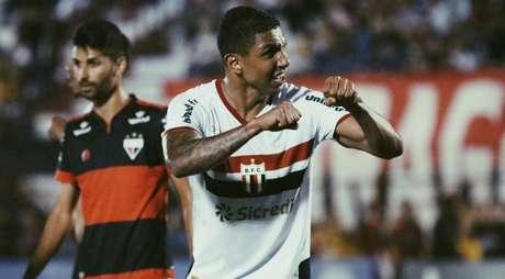 Didi comemora ano positivo pelo Botafogo-SP após recuperação de lesão no joelho esquerdo (Foto: Divulgação)