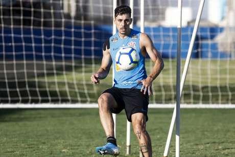 Avelar pode ser novidade para o jogo de quarta, contra o Ceará, no Castelão (Daniel Augusto Júnior/ Agência Corinthians)