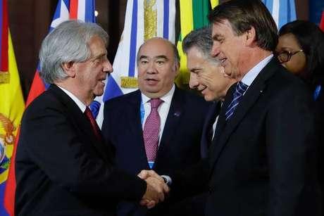 Líderes do Mercosul em cúpula de Santa Fé