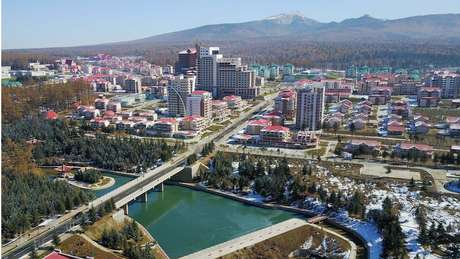 Samjiyon é uma 'cidade modelo' da Coreia do Norte