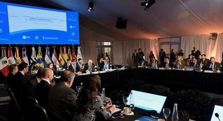 Reunião do Mercosul em Santa Fé, na Argentina 16/07/2019 Ministério de Relações Exteriores da Argentina/Divulgação via REUTERS