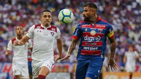 No Castelão, o Tricolor levou a melhor e venceu por 1 a 0 (Foto: Lucas Merçon/Fluminense)