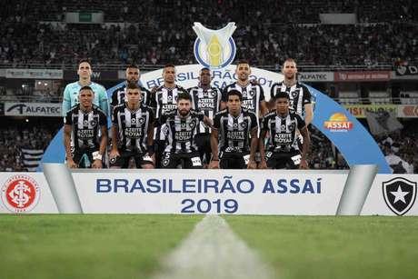 Time do Botafogo (Foto: Vítor Silva/Botafogo)