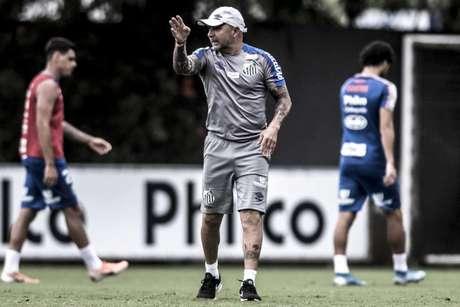 Após queda de Mano Menezes, Sampaoli despertou interesse do Palmeiras (Foto: Ivan Storti/Santos)