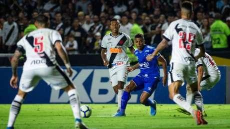 Mais uma vez a emoção num jogo do Vasco rendeu até os minutos finais (Bruno Haddad/Cruzeiro)