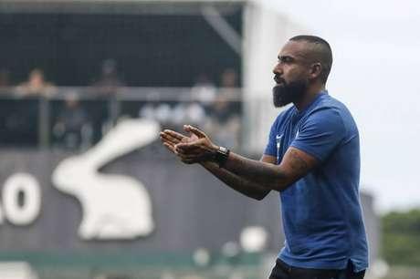 Dyego Coelho ainda não venceu fora de casa desde que assumiu o Corinthians (Foto: Rodrigo Gazzanel / Ag. Corinthians)