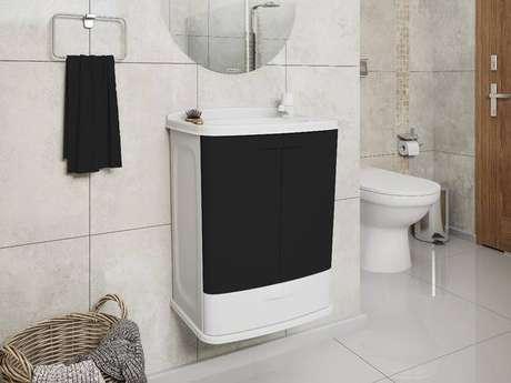 3. A toneira para pia de banheiro de plástico é algo que vem sendo substituído. Foto: Mercado Livre