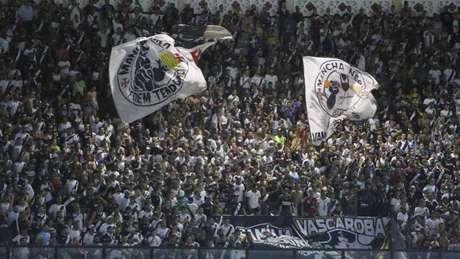 Vasco fez último jogo em São Januário contra o Cruzeiro, nesta segunda-feira (Foto: Rafael Ribeiro/Vasco)