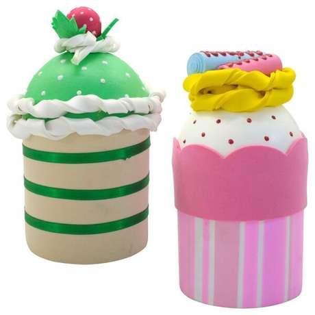 24. Latas decoradas com EVA para festas infantis. Fonte: Pinterest