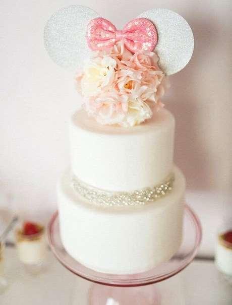 104 – Bolo criativo e especial para festa da Minnie. Fonte: Pinterest