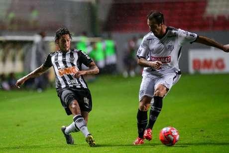 Guga teve boa participação na partida e quer reconquistar o torcedor do Galo-(Bruno Cantini/Atlético-MG)