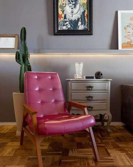 2. Saiba escolher tinta cinza parede que melhor se harmonize ao seu ambiente – Foto: Tria Arquitetura