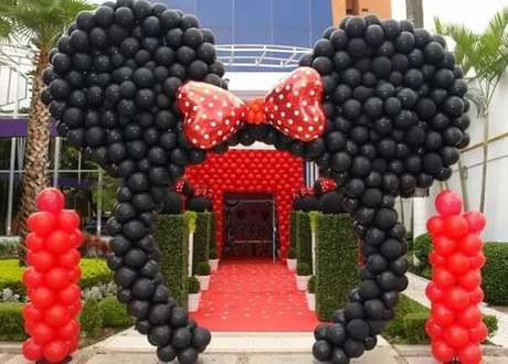 53 – Arco de balões. Fonte: Pinterest