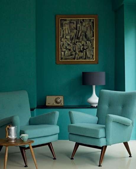 76. Você não precisa ter medo de usar o azul Tiffany. Foto: Channel 4