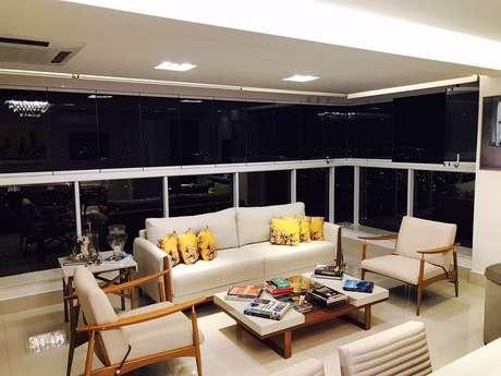 10. O sofá também é umdos móveis paravaranda – Foto: Ana Cinthia Lopes