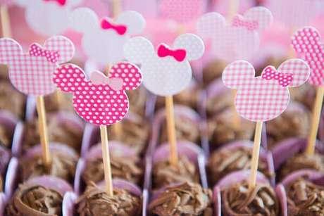 47 – Detalhes que fazem toda a diferença na festa da Minnie. Fonte: ConstruindoDECOR